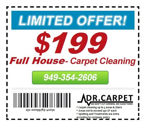full house carpet cleaning coupon